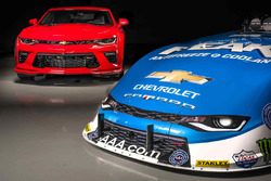 The 2016 Camaro and the 2016 Camaro SS Funny Car