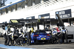 Pit stop Gary Paffett, Mercedes-AMG Team ART, Mercedes-AMG C63 DTM.