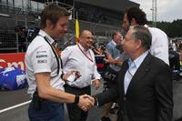 Rob Smedley, Williams Performans Şefi, Jean Todt, FIA President