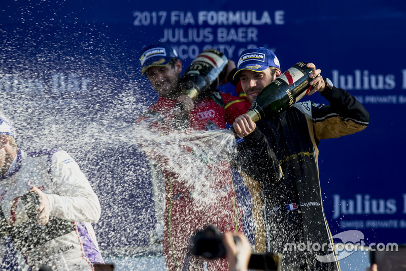 Podium: Jean-Eric Vergne, Techeetah