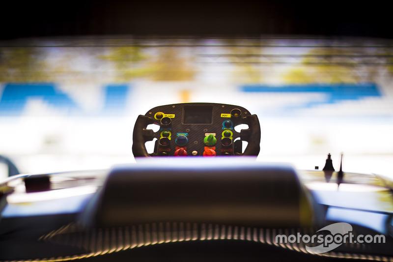 Lenkrad: Ford Chip Ganassi Racing, Ford GT