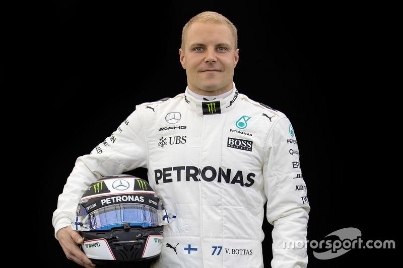 Valtteri Bottas, Mercedes AMG F1 (Contrato hasta final de 2018)
