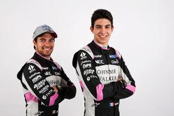Esteban Ocon, Sahara Force India F1, Sergio Perez, Sahara Force India F1