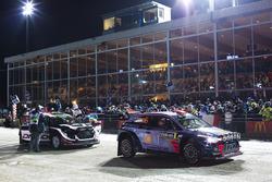 Car of Dani Sordo, Marc Marti, Hyundai i20 WRC, Hyundai Motorsport