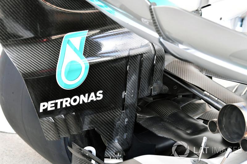 Mercedes AMG F1 W08 arka detay