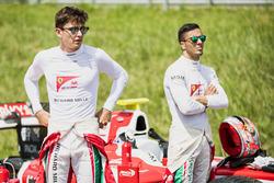 Charles Leclerc, PREMA Powerteam, Antonio Fuoco, PREMA Powerteam