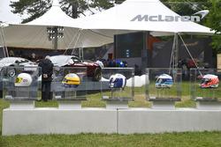 McLaren kask kolleksiyonu