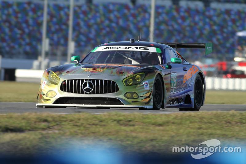 #75 SunEnergy1 Racing Mercedes AMG GT3: Boris Said, Tristan Vautier, Kenny Habul