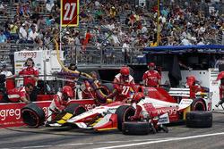 Arrêt au stand de Marco Andretti, Andretti Autosport Honda