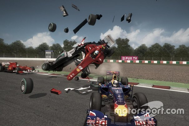 Kecelakaan besar, F1 2010
