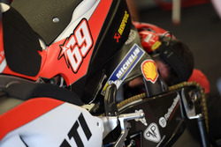 Bike of Ducati with the number of Nicky Hayden