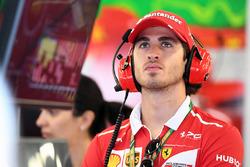 Antonio Giovinazzi, collaudatore e pilota di riserva Ferrari