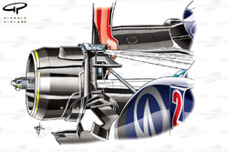 Red Bull RB9 brake duct, British GP