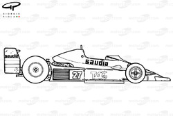 Williams FW06 1979 side view