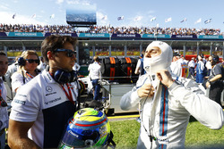 Felipe Massa, Williams, on the grid