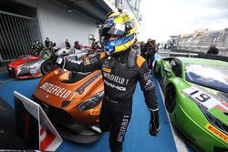 Race winnaar Franck Perera