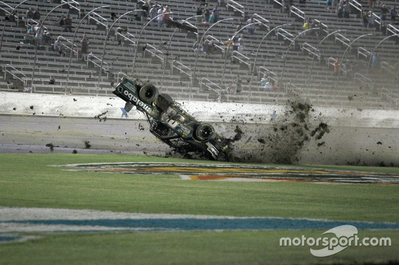 Unfall von Timothy Peters, Chevrolet Silverado