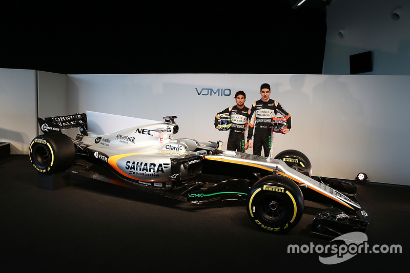 Серхіо Перес, Естебан Окон, Sahara Force India F1 Team, Sahara Force India F1 VJM10