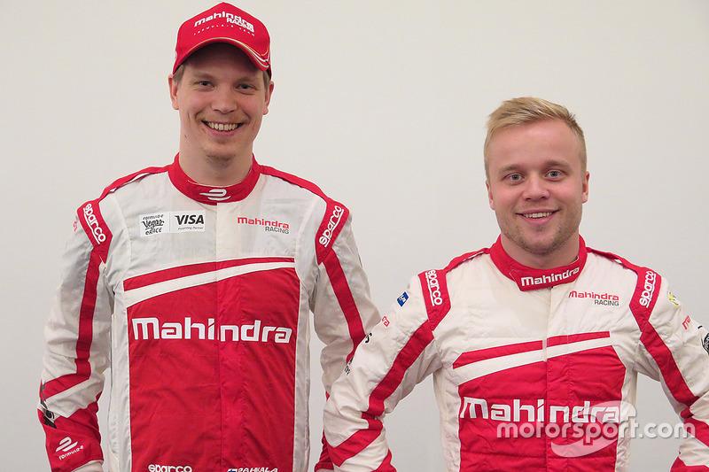 Olli Pahkala, Felix Rosenqvist, Mahindra Racing