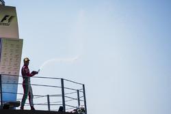 Podio:  tercero Antonio Fuoco, PREMA Powerteam