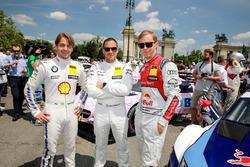 Augusto Farfus, BMW Team RMG, BMW M4 DTM, Gary Paffett, Mercedes-AMG Team HWA, Mercedes-AMG C63 DTM, Mattias Ekström, Audi Sport Team Abt Sportsline, Audi A5 DTM