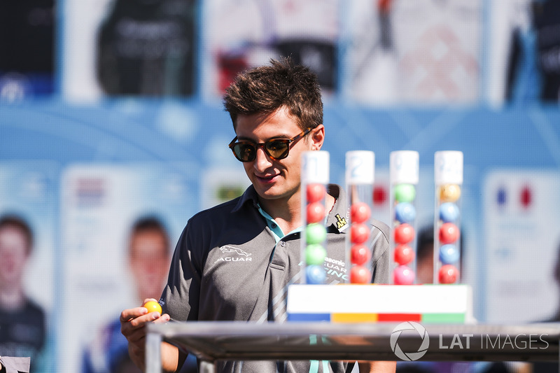 Mitch Evans, Jaguar Racing, en la lotería de calificación