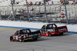 Noah Gragson, Kyle Busch Motorsports Toyota, Ben Rhodes, ThorSport Racing Toyota