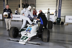 Demonstration eines Williams FW07 von Alan Jones Williams FW07