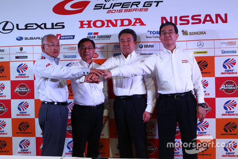 Die Sportchefs der Marken Honda, Lexus und Nissan