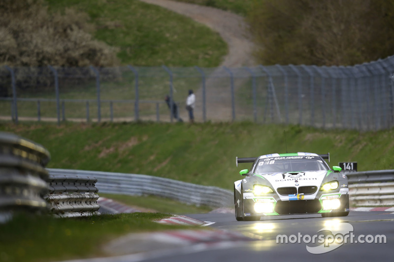 11. #20 BWM Team Schubert Motorsport, BMW M6 GT3