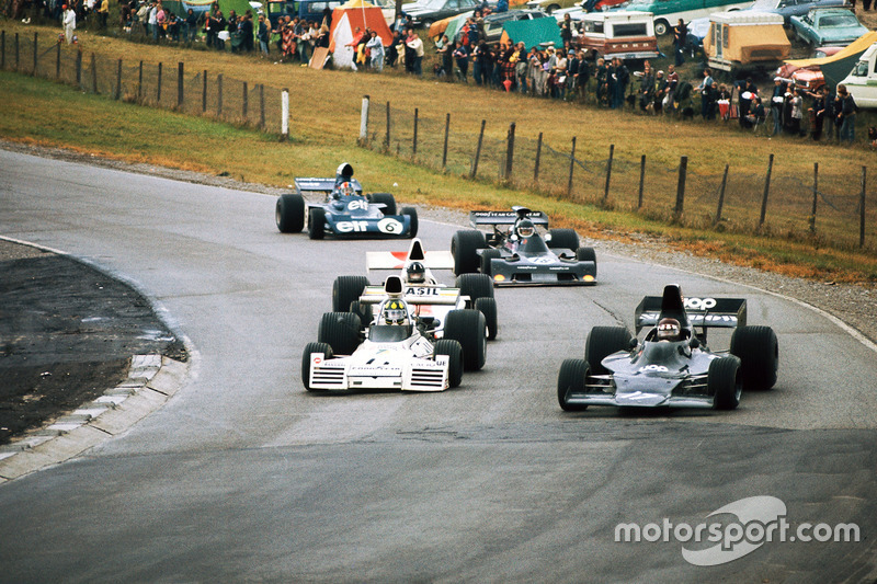 Jackie Oliver, Shadow DN1 Ford, Graham Hill, Shadow DN1 Ford, Jean-Pierre Jarier, March 731 Ford, François Cevert, Tyrrell 006 Ford