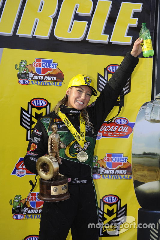 Top Fuel Sieger, Leah Pritchett