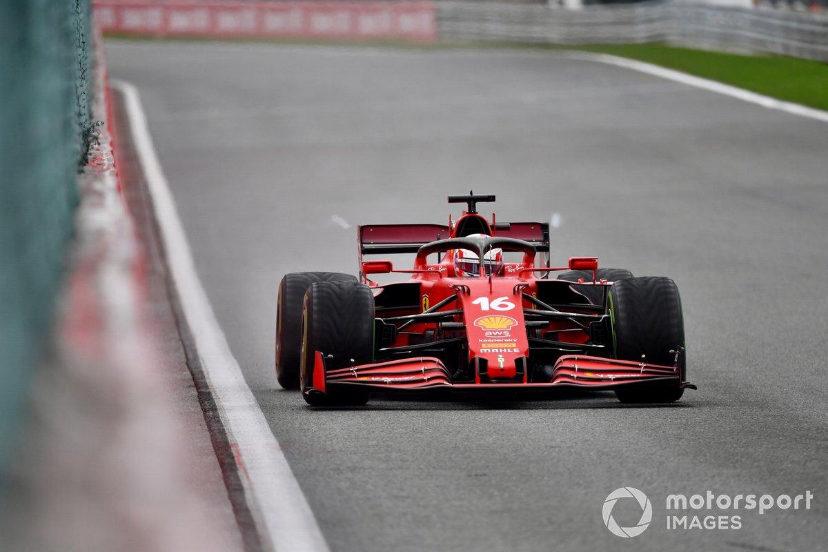 Charles Lecklerk, Ferrari SF21