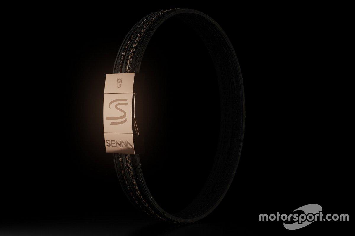 Armband van raceband Senna