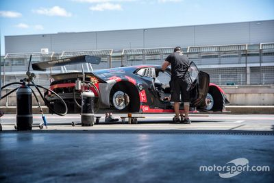 Test Hülkenberg / Lamborghini au Nürburgring