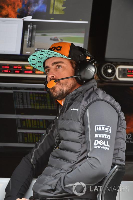 Fernando Alonso, McLaren during FP1