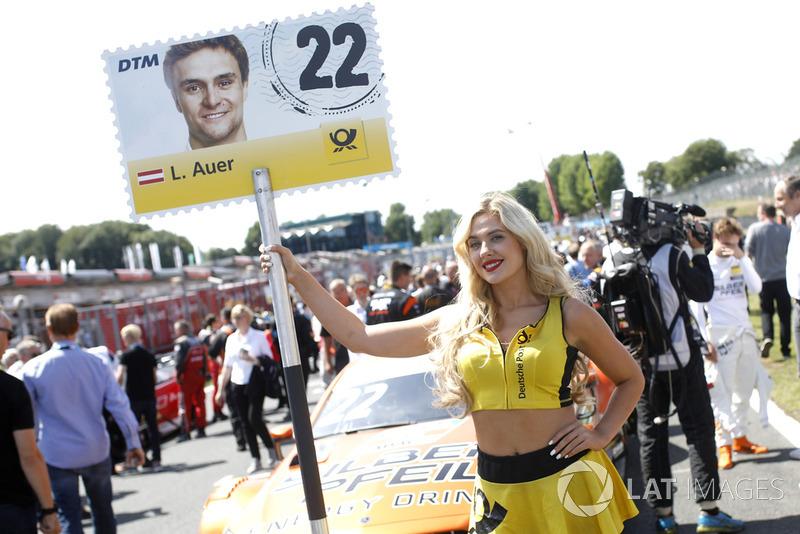 Chica de la parrilla de Lucas Auer, Mercedes-AMG Team HWA