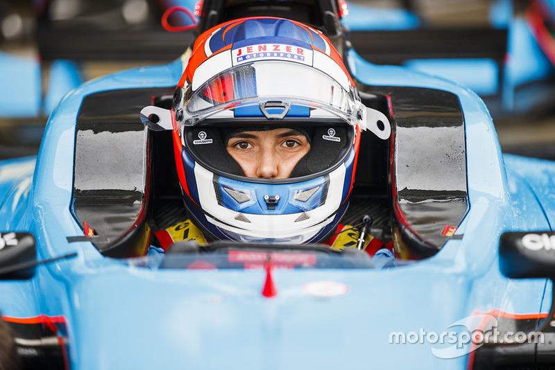Calderón a obtenu son meilleur résultat en GP3, sixième