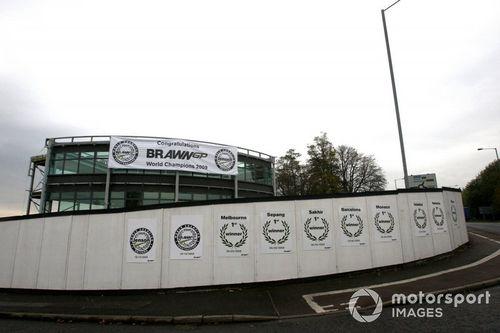 Brawn GP feiert den WM-Titelgewinn 2009