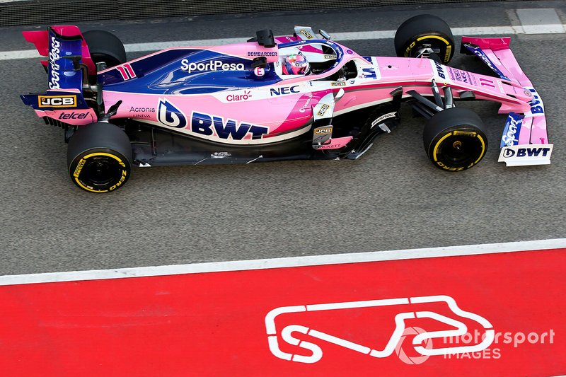 18º Sergio Perez, Racing Point RP19 , 1:17.791 (neumáticos C5, día 8)