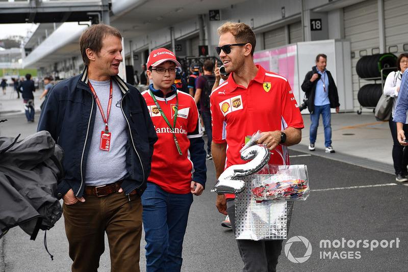 Sebastian Vettel, Ferrari, Michael Schmidt, Jurnalis