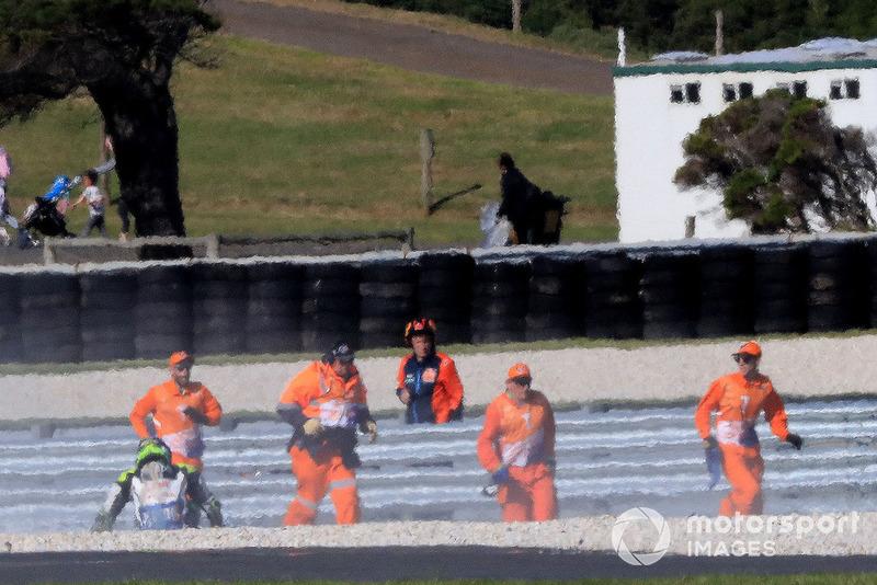l'incidente di Cal Crutchlow, Team LCR Honda