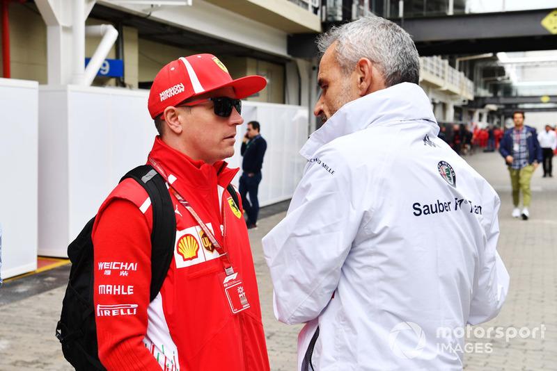 Кімі Райкконен, Ferrari, командний менеджер Sauber F1 Біт Цендер