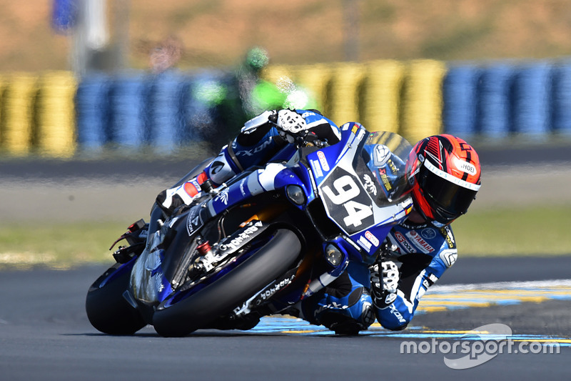 #94 Yamaha: Mike de Meglio, Niccolo Canepa, David Checa