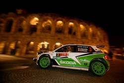 Umberto Scandola, Guido D'Amore, Skoda Fabia R5, Skoda Motorsport Italiaa