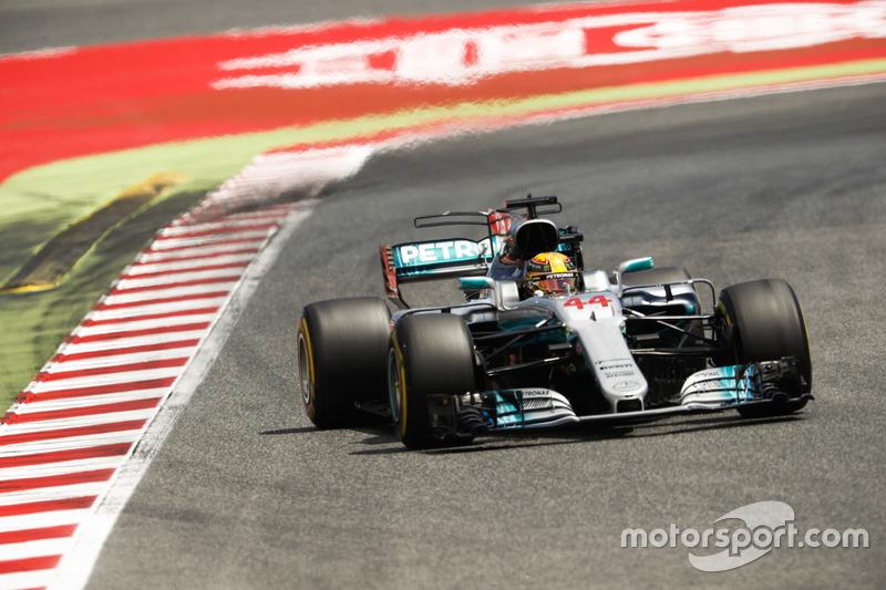 Giro 20 - Lewis Hamilton, Mercedes AMG F1 W08