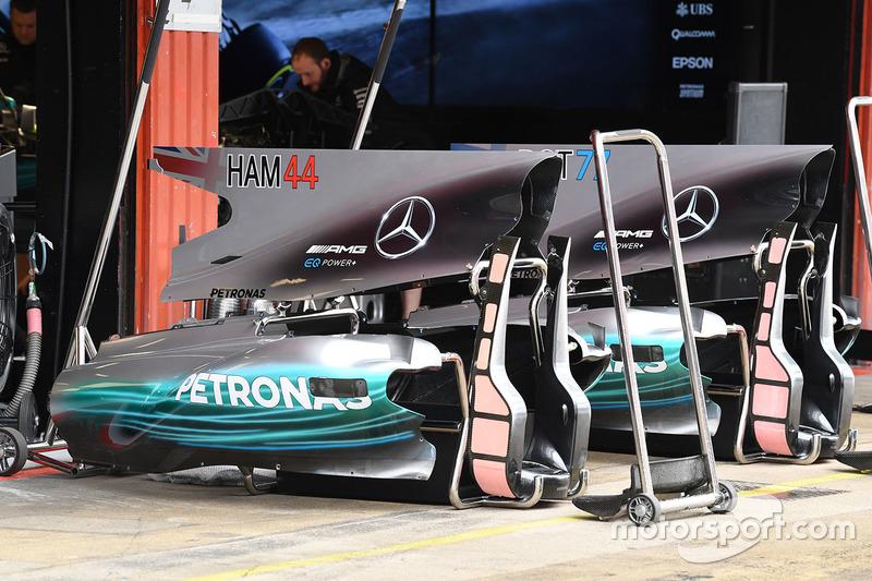 Mercedes AMG F1 F1 W08  bodywork