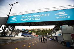 Monaco ePrix signage