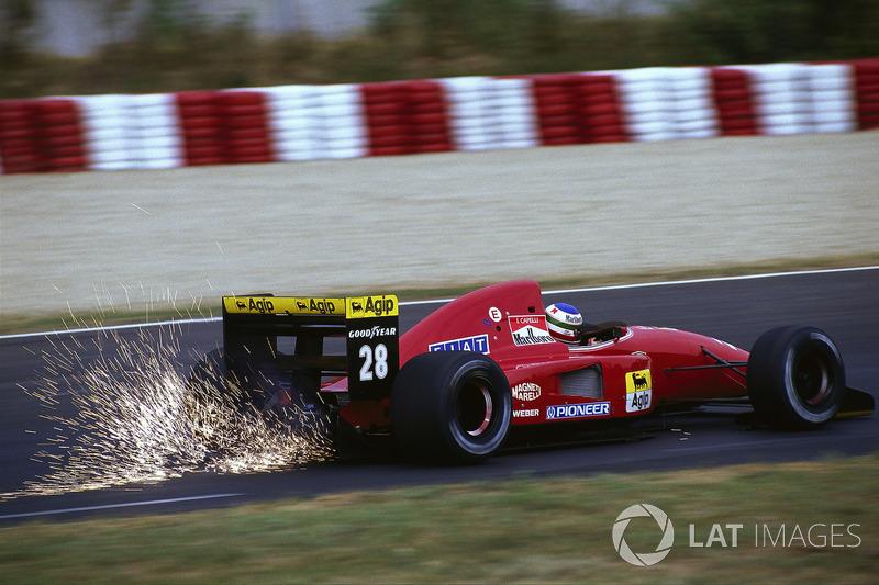 Ivan Capelli, Ferrari, Ungheria 1992