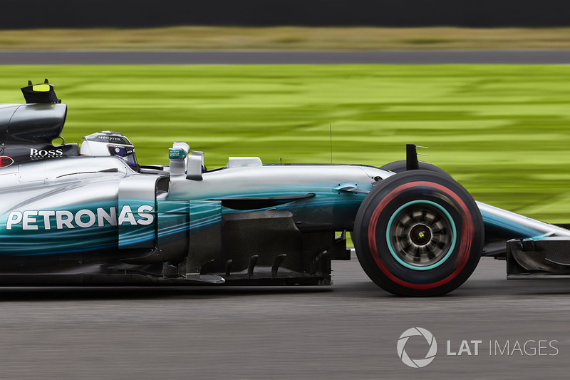 6: Valtteri Bottas, Mercedes AMG F1 W08 (incluidas 5 posiciones de sanción)